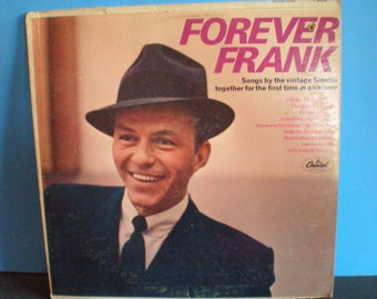 Vintage Mid Century Record - Forever Frank - Sinatra Ablum