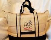 7 Personalized Burlap Cooler Bags