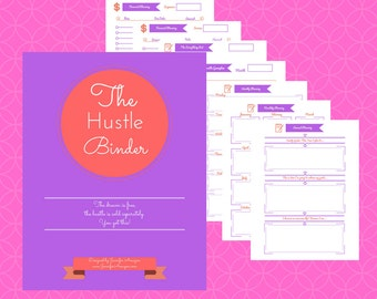The Hustle Binder: Planning Kit for Women Entrepreneurs