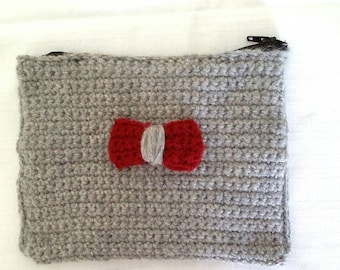 Handmade crochet  purse /wallet / free combined shipping
