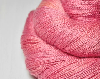 Artificial rose coral - BabyAlpaca/Silk Lace Yarn