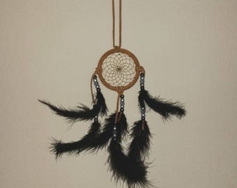 Authentic Native American Small Dreamcatcher -- Protection from Nightmares, Protection from Negativity, Promote Good Dreams