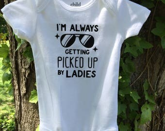 Baby Onesie- picked up by Ladies