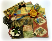 Graphic 45 French Country Inspiration Kit, Embellishment Kit for Scrapbook Layouts Cards Mini Albums and Paper crafts