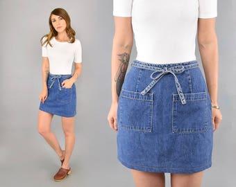 Mini Wrap Skirt W/ Pockets