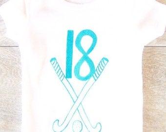 Children -  Field Hockey - Sports - Toddler T-Shirt or Baby Onesie