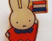The Miffy Kawaii Pin.80s