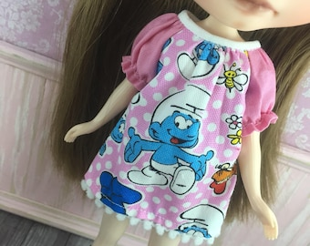 Blythe Smock Dress - Smurfs