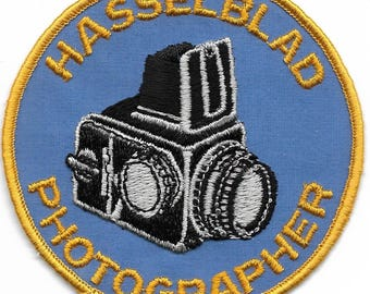 Vintage Hasselblad Photographer Patch