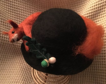 Hand-felted hats for all ages!