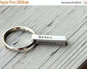 SALE Name Keychain For Dad / Personalized Key Chain / Dad / Grandpa / Groomsman Gift / For Godfather / Name Keychain / Uncle / Aunt/ Grandmo