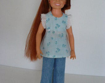 Crissy Doll Clothes Angel Top & Denim Jeans