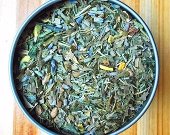 Healthy Hair Tea - Organic Herbal Tea stimulates hair growth and strengthens existing hair