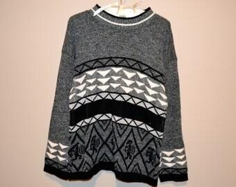 Vintage Sweater Walk Like an Egyptian
