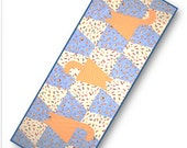 Tumbling Cats Table Runner / Wall Hanging Quilt Pattern