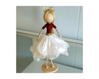 Holiday Flower Fairy Doll