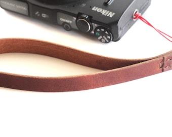 Leather Camera Strap,Pocket Camera Hand Strap,Leather Strap,Camera Straps,Camera Accessories, Digital Camera Accessories,Photographer Gift