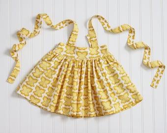 Butterfly Suspender Skirt