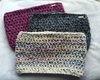 Knit cowls - cowl scarves