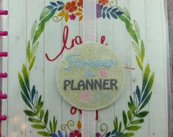 Forever a Planner Girl Planner Band, book mark