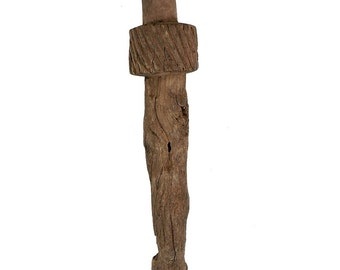 Dogon Figural Staff or Post Mali African Art 31 Inch 106221 SALE WAS 275