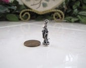 Sterling Silver Kwan Yin Pendant, Goddess of Mercy
