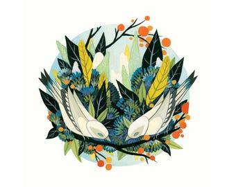 Avifauna - Fine Art Print 8x10