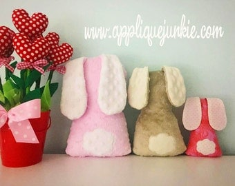 In the Hoop - Simple Bunny Pillow