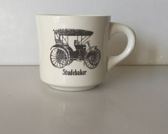 Vintage STUDEBAKER Novelty Automobile Collector's Coffee Cup