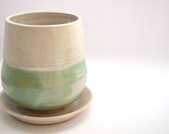 Ceramic planter, Ceramic pot,  Flower pot, Handmade Clay planter, Decorative planter, Pottery planter