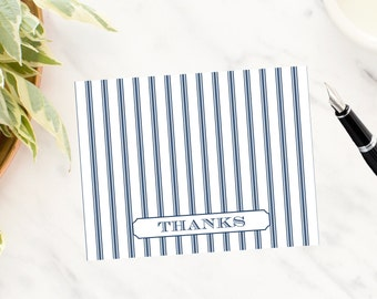 Old Time Ticking Thank You Note Cards