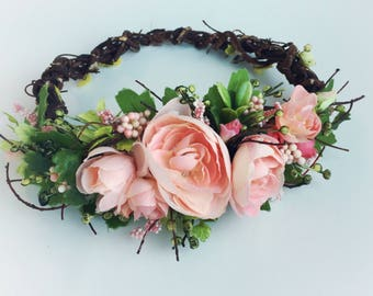 Photography floral crown, maternity crown, newborn flower crown, fairy crown
