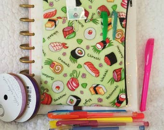 Sushi Planner pouch accessory holder
