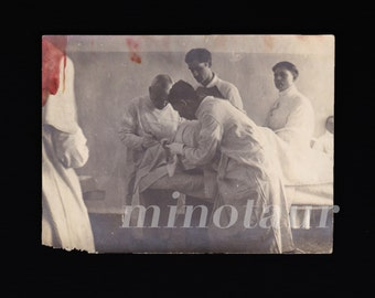 1930s photo creepy surgery / Medical / Bizarre