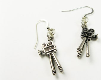 Hollywood Jewelry - Movie Camera Jewelry for Cinema or Theatre Fan, Actor or Actress, Film Director