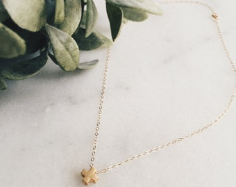Necklace || Greek Cross