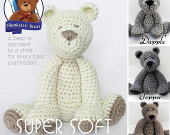 Crochet Teddy Bear SUPER SOFT