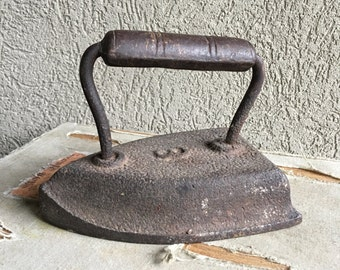 Antique Cast Iron Doorstop Number 8 Metal Door Stop - #F5017