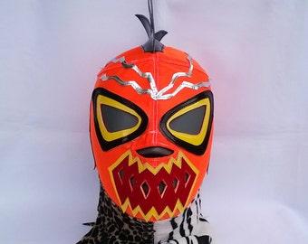 Radioactive Wrestling Lucha Libre Mask Mardi Gras Halloween Party masquerade luchador mexicano mask Konnan mask Christmas Present mask