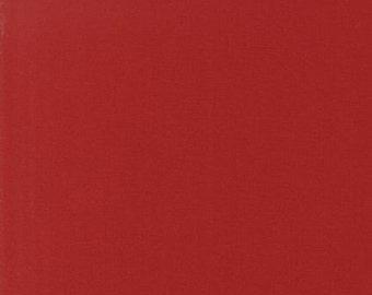 Ruby, Kona Cotton, Robert Kaufman Fabrics, 1/2 Yard