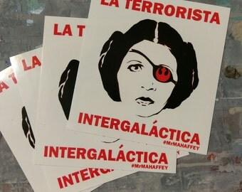 "Star Wars Art Disney Princess Leia Graffiti Stickers 3""x3"" Vinyl Stickers Graffiti Art Stickers Obey & Banksy Insp. Bumper Stickers Laptop"