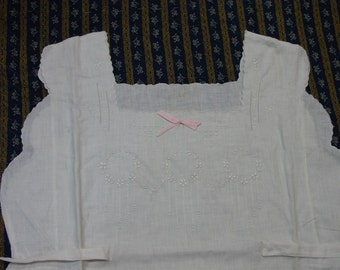 Vintage Nightgown, Never Used, Hand Made & Embroidered, Made in Philippines, Very Nice