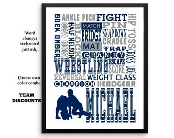 wrestling gifts wrestling print wrestling room decor boys wrestling wrestling poster. beautiful ideas. Home Design Ideas