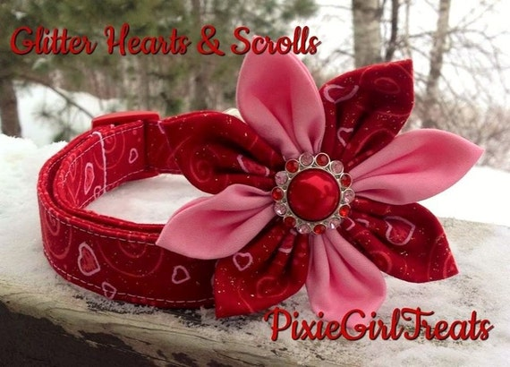 Valentine Dog Collar