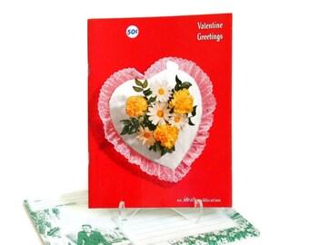 Vintage Valentine, Valentine's Day Poetry Book with Envelope, 1964 Ideals Magazine