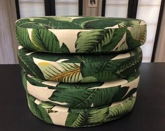 Custom Seat Cushions in Custom Sizes and Fabrics