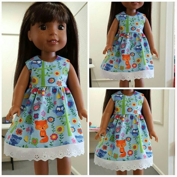 Woodland Creatures Fox Wellie Wisher, Disney Toddler Doll Dresses