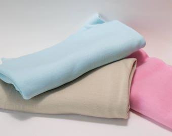 Stretch Wrap Bundle Pack-Baby Boy Blue, Baby Girl Pink, Neutral Beige