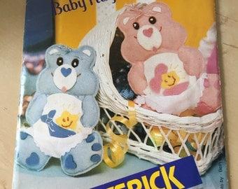 Butterick Care Bear Hugs and Tugs Ornament Pattern