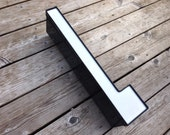 L - Reclaimed Metal letter - 20 inch - XL - SALE